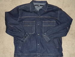 Marithe Francois Girbaud Button Front Menand039s Denim Jacket Size 2xl Nice