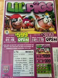 Liland039 Pigs Cards Game 1470 Cards Entertainment Only Free Ship Usa 48