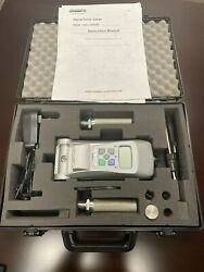 Shimpo Fgv-500hxy 500lb Digital Force Gauge With Carrying Case And Accessories
