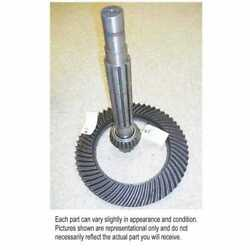 Used Ring Gear And Pinion Set Fits John Deere 4630 Ar63372