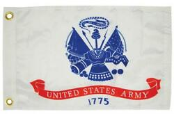 Boat Marine United States Army 1775 Military Flag 12 X 18 Brass Grommets