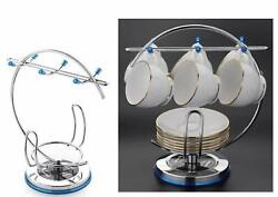 Stainless Steel Cup Stand And Cup Saucer Stand