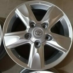 Toyota Land Cruiser 18 Inch Alloy Wheels Set Of 4 2008 To 2012