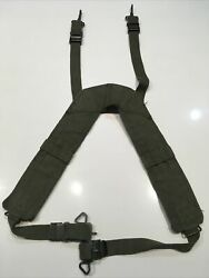 Vietnam Era U.s.m.c. And U.s. Army M1956 H-pattern Pack Suspenders Free Shipping