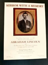 Earliest Photo Of Abraham Lincoln
