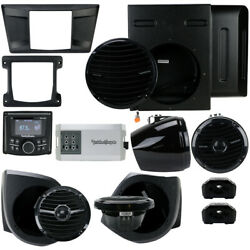 Rockford Fosgate Yxz-stage4 Stereo Sub Rear And Front Lower Speakers Yamaha Yxz