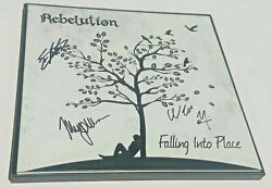 Rebelution Reggae Band Signed + Framed Falling Into Place + Clear Vinyl