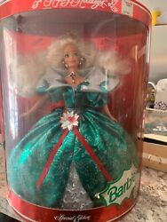 1988 1989 1990 Happy Holiday Barbie Doll Set Special Edition Mattel Sealed