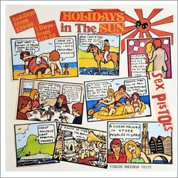 Sex Pistols 1977 Holidays In The Sun Promotional Poster Uk