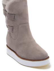 Australia Luxe Collective   Bushmill Genuine Shearling Fur Lined Boot - Grey 9m