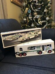 2006 Hess Toy Truck And Helicopter Holiday Set-new In Box