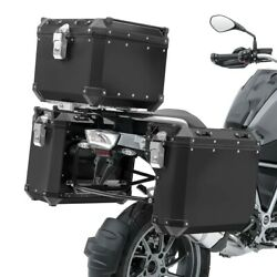Valises Laterales Alu Pour Honda Africa Twin Crf 1000 L 16-17 + Top Case Adx110b