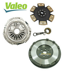 Valeo-fx Stage 4 Clutch Kit And Forged Flywheel For 2004-2013 Mazda 3 5 2.0l 2.3l