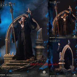 """Dam Toys Dmlw05 World Of Warcraft Movies Medivh 27.2"""" Statue Model In Stock New"""