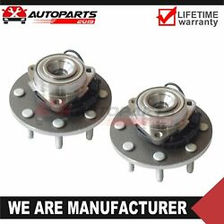 2front Wheel Bearing Hub Assembly For Dodge Ram 2500 3500 W/abs 2wd Rwd 515089