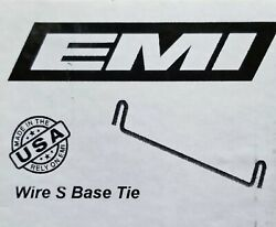 Emi 8 Wire-s Base Tie For Steel Ply Concrete Forms 100/box