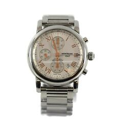 Star Gmt Chronograph Stainless Steel Watch 7067