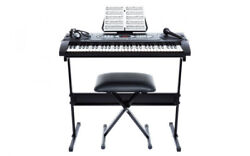 Alesis Melody 61 Key Portable Keyboard With Stand Bundle Piano Organ For Kids