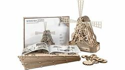 Wooden Farm Mill - Beautiful Mill Sculpture Or Toy Windmill 3d Model By Wooden.