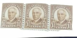 One And A Half Cent Harding Rare Postage Stamp 3 Uncancelled