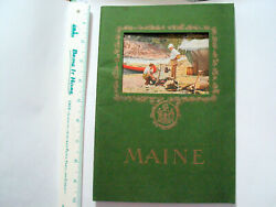 Maine The Land Of Remembered Vacations Booket _ Booth Tarkington Autograph