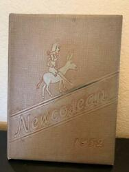 Newcomerstown High School Yearbook 1952 Newcosean 52 Newscomerstown Ohio Oh