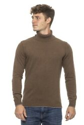 Sweater Conte Of Florence Man Andrea Turtleneck Made In Italy Long Sleeve