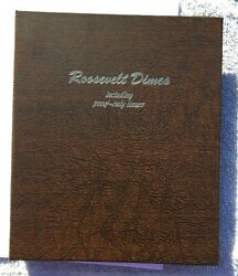 Roosevelt Dimes Complete Set 1946 To 2002 Bu 168 Coins In Danso Album