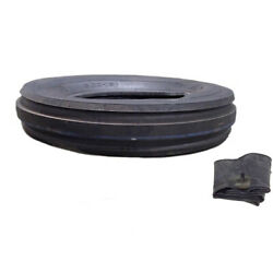Two- 600x16 Front Tires W/ Tubes 600-16 For Farmall International Farm Tractors
