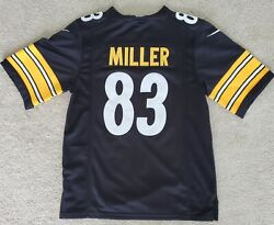 New Pittsburgh Steelers Heath Miller Jersey Youth Small