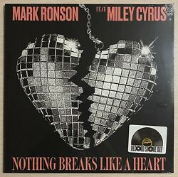 Miley Cyrus Mark Ronson Nothing Breaks Like A Heart Rsd Record Store Day Vinyl
