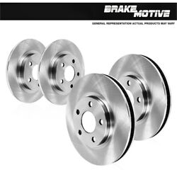 For 2003 2004 2005 Ford Explorer Trac 2wd Front And Rear Brake Disc Rotors
