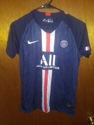 New Authentic Nike Paris St Germain Jersey Shorts Socks Youth Large - 28 Soccer