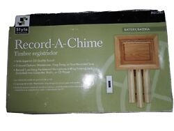 Style Selections Record-a-chime Doorbell Chime New