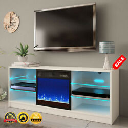 Tv Stand W/electric Fireplace For Tv Up To 65 Tv Console