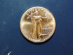 1990 One Half Ounce Gold American Eagle Better Date 25 Coin Priced To Sell