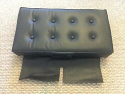 Piper J3 Cub Leather Aft Bottom Seat Cushion 4 Inch Booster Seat