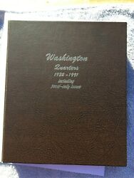 Washington Quarters 1941-1998 P/d/s Plus Silver Proof High Grade Dansco Album