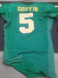 Damon Griffin Oregon Ducks Game Used + Signed Nike Football Jersey