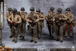 Crazy Figure 1/12 8pc Soldier Normandy Landing Lty001 Wwii Us Army Suit Figure