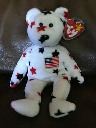 Ty Beanie Baby Glory Ultra Rare New 2 Can Tags + More Investment Quality