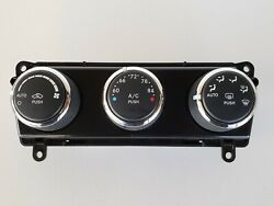 11-14 Challenger 55111463ae Climate Control Panel Temperature Unit A/c Heater