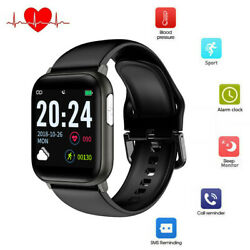 Smart Watch Ecg Heart Rate Blood Pressure Sleep Monitor Sport For Iphone Android