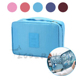 Multifunction Cosmetic Bag Makeup Case Pouch Toiletry Wash Organizer Travel Bag $5.85