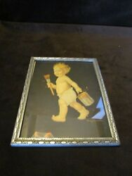 Art Deco Print And Frame Frances Tipton Hunter Sunny Jim 1940andrsquos Pacific Food Brand