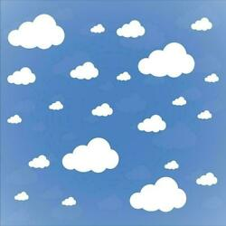 Cloud Wall Stickers Children Bedroom Nursery Wall Decal Home Decoration c 03