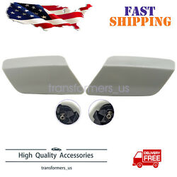 Headlight Washer Cover For 2011-2013 Bmw 328i Xdrive Coupe Set Of 2 Left Right