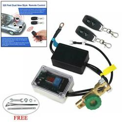 Car Battery Disconnect Cut Off Isolator Master Switches Wireless Remote Control