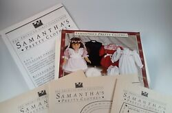 The American Girls Doll Dress Patterns For Samanthaand039s Pretty Clothes Retired