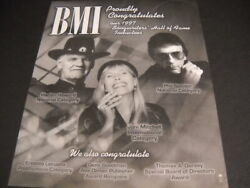 Joni Mitchell Harlan Howard Phil Spector 1997 Shof Inductees Promo Poster Ad